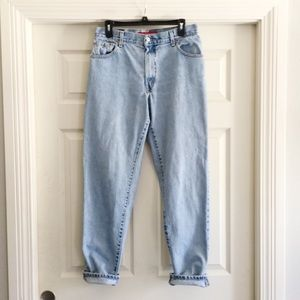 Vintage Levi's 550 Relaxed Tapered High Rise Jeans